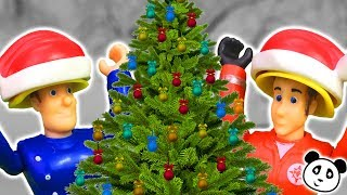 ⭕ FEUERWEHRMANN SAM - Der Weihnachtsbaum steht in Flammen - Pandido TV