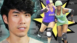 The Try Guys Try Roller Derby