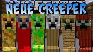 70+ NEUE CREEPER! (Creeper Wither, Dragon, Giant und viele mehr!) [Deutsch]