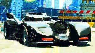 Mit dem Batmobil durch die Straßen von GTA Online!