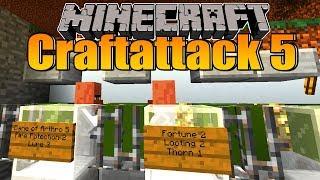 Zombie RAID in meinem Dorf! - Minecraft Craftattack 5 #11