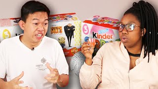 Americans Try Banned Products From Canada