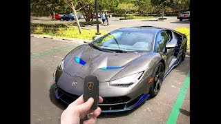 guy finds keys to lamborghini... drives off...
