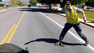 Stupid, Crazy & Angry People Vs Bikers | ROAD RAGE | Bad Drivers Caught On Go Pro [Ep.#111]