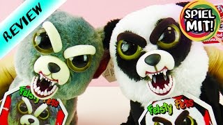 HORROR STOFFTIERE - FEISTY PETS Panda VS Wolf | Wer macht mehr Angst?