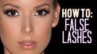 How I Customize, Trim & Apply False Lashes | LustreLux