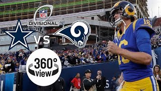 Cowboys vs. Rams Divisional Round All-Access in 360º | 2018 NFL Playoffs
