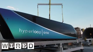 Watch the Hyperloop Complete Its First Successful Test Ride   WIRED