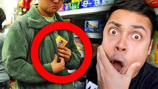 REACTING TO PEOPLE WHO GOT CAUGHT STEALING ON CAMERA