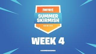 Fortnite #SummerSkirmish | Week 4 (Day 1)