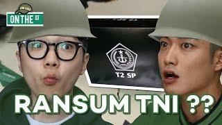 JUNCHEF & PARK NAM MENCOBA MAKANAN MILITER INDONESIA | KOREANS TRY INDONESIAN MRE