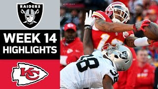 Raiders vs. Chiefs | NFL Week 14 Game Highlights