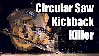 Circular Saw Kickback Killer (We used science to make tools safer) - Smarter Every Day 209