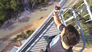 Egg Survives 45m Drop Test With Line-X! | How Ridiculous