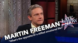 Martin Freeman Is Not Turned Off By Racy