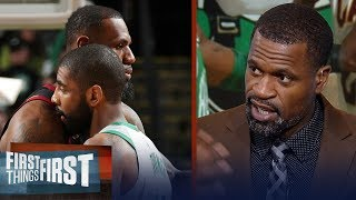 Stephen Jackson on LeBron and Kyrie reuniting on the Boston Celtics | NBA | FIRST THINGS FIRST