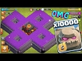 10000 golem attack in clash of clans OMG...mp3