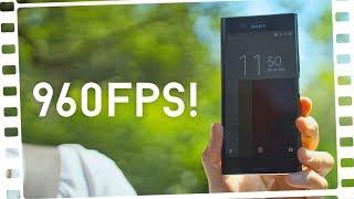 960 Bilder/Sekunde mit dem HANDY aufnehmen?! - Sony Xperia XZ Premium - Review