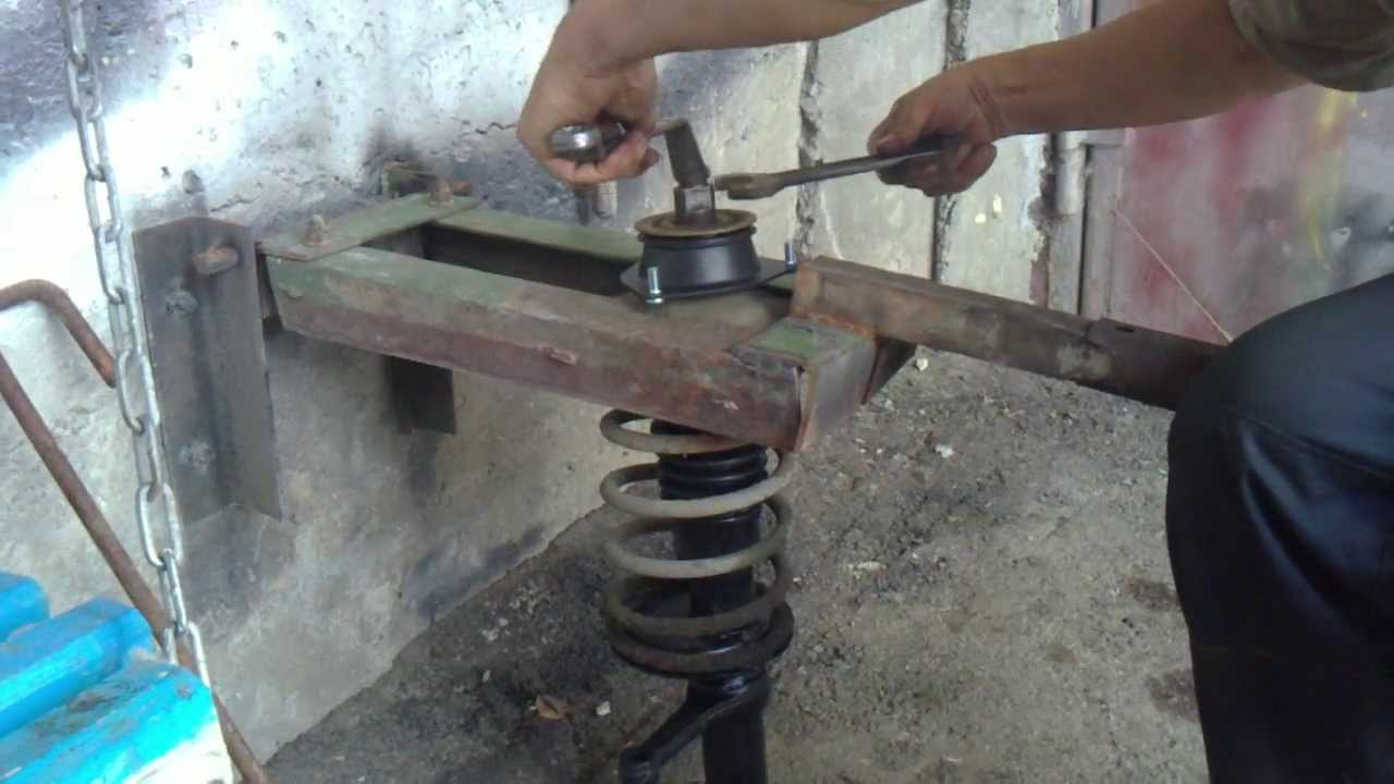 Как сделать съемник пружин своими