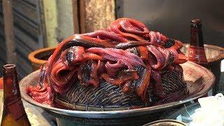 TRADITIONAL Taiwan Street Food Tour of Tainan: EEL Noodles & Milk Fish
