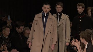 [1080p] Kris Wu closes the Burberry January 2016 Menswear Show