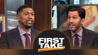 Jalen shuts down Will saying Kevin Durant will surpass LeBron James this season   First Take   ESPN