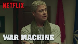 "War Machine | Clip: ""You Got Your Troops"" 