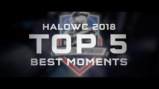 HaloWC 2018 Top 5 Best Moments