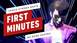 The First 15 Minutes of Travis Strikes Again: No More Heroes Gameplay