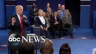 Donald Trump, Hillary Clinton Discuss Muslim Ban