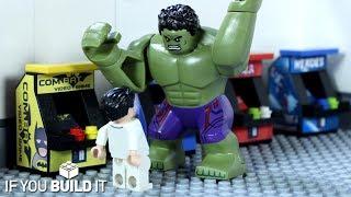 LEGO BATMAN v HULK ARCADE FAIL