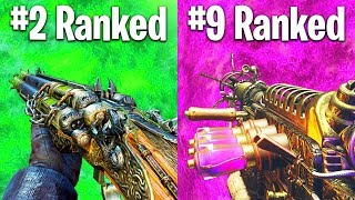 RANKING EVERY ZOMBIES MAP FROM WORST TO BEST (im ready for bo4 now)
