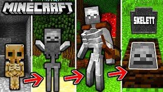 SKELETT LEBENSZYKLUS in Minecraft - Von einer LEICHE zum MUTANTEN!
