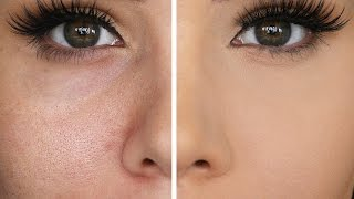 HOW TO HIDE LARGE PORES & MAKE PORES DISAPPEAR | Katerina Williams