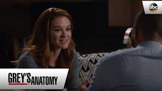 April Gets Honest With Jackson - Grey