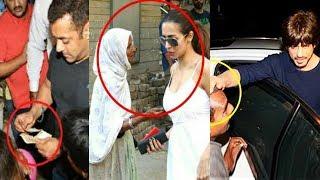 What Bollywood Stars Do When BEGGARS Ask For Money | Salman, Shahrukh, Malaika Arora, Ranveer Singh