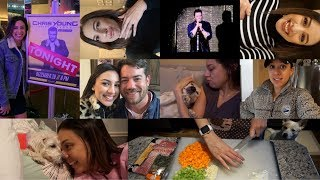 VLOG | HAPPY NEW YEAR! 5 days of fun and touching Chris Young