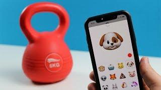 Experiment - iPhone X gegen Baseballschläger und Hantel - Rhinoshield