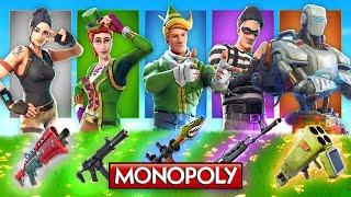The *RANDOM* Monopoly Skin CHALLENGE In Fortnite!