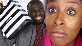Boyfriend Buys My Makeup! | Jackie Aina