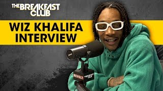 Wiz Khalifa Answers Stoner Questions, Talks Creating Waves, Amber Rose + More