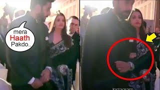 Abhishek FORCES Aishwarya Rai To Hold His Hand In Public In Front Of Media