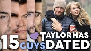 """15 Guys Taylor Swift Has """"Dated"""""""