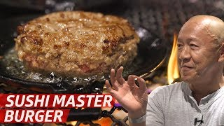 Legendary Sushi Chef Masa Invented a New Way to Cook Burgers — Prime Time