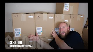 THE FIRST $3,000 Amazon Customer Returns Pallet On The Channel + It