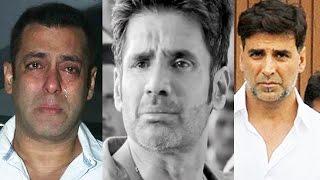 Sunil Shetty Father Funeral - Salman Khan Akshay Kumar Abhishek Bachchan Emotional