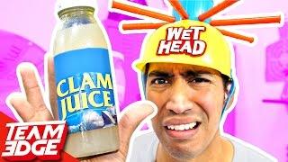 Gross Wet Head Challenge!!