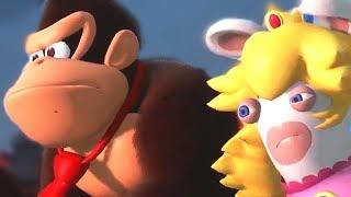 Donkey Kong Adventure DLC For Mario + Rabbids + DK Rap | E3 2018 Gameplay
