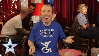 Quickfire Questions with Lost Voice Guy | BGT 2018