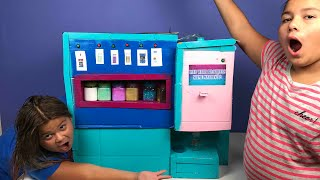 OUR SLIME VENDING MACHINE 2 (IT REALLY WORKS)